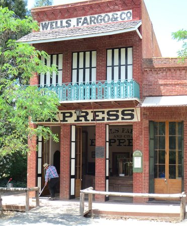 Columbia State Historic Park: Wells Fargo Assay Office