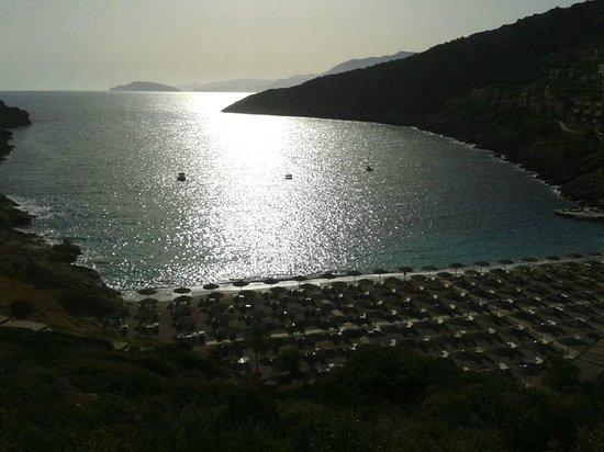 Daios Cove Luxury Resort & Villas: Sunrise
