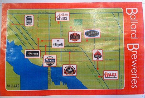 Ballard NanoBrewery Beer Walk Seattle WA Top Tips Before You