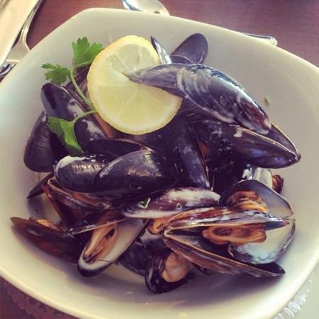 Eilean Dubh Restaurant: muscles