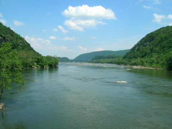 Harpers Ferry National Historical Park: Confluence of rivers