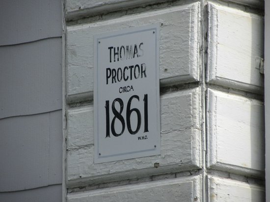 Proctor Mansion Inn: Essentially only four owners since 1861.