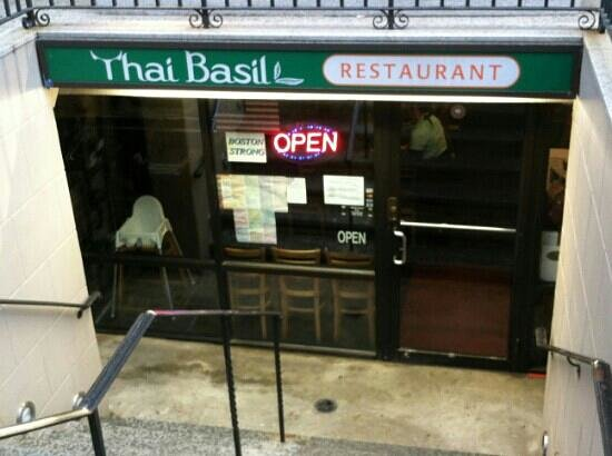 Photo of Asian Restaurant Thai Basil at 132 Newbury St, Boston, MA 02116, United States