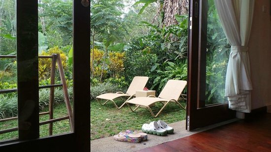 Munduk Moding Plantation: balcony