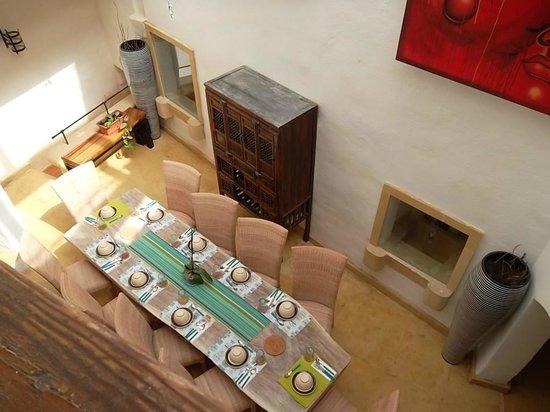 Chapel 5 Palazzo Suites B&B : la salle à manger vue de l'étage