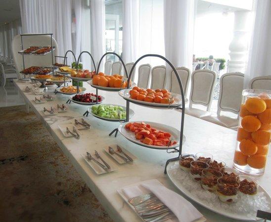 Mondrian South Beach Hotel Continental Buffet Breakfast