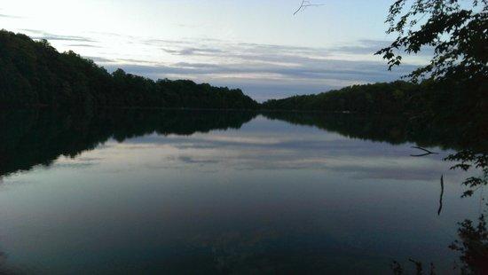 Green Lakes State Park: Lago