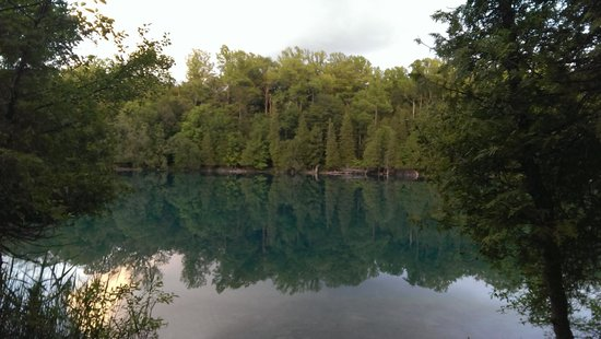 Green Lakes State Park: Bosque