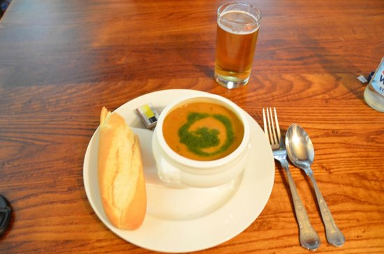 The New Inn: Moroccan Vegetable Soup - excellent!!!