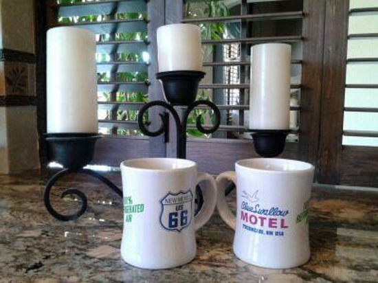 Blue Swallow Motel: Blue Swallow Mugs