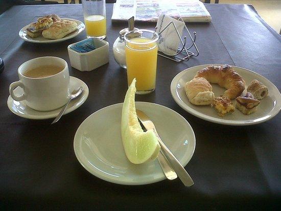 Brisas de Nono: desayuno