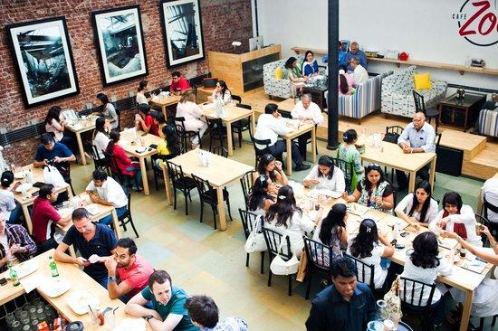 Photo of Italian Restaurant Cafe Zoe at N M Joshi Marg, Mumbai (Bombay) 400013, India