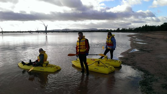 Pomonal, Australia: Kayak tours .Fitopia Activity Tours offers this and so much  more.