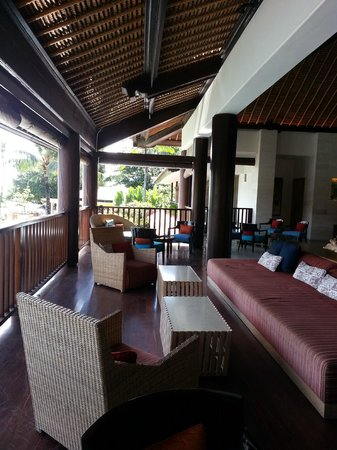 Holiday Inn Resort Baruna Bali: Lobby resting area