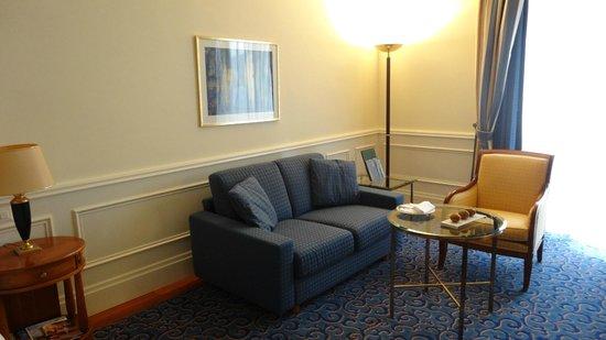 Palace Luzern: Sitting space