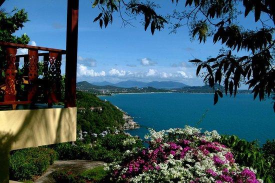 Samui Mountain Village: View from pathway beside Sunrise Villa 1