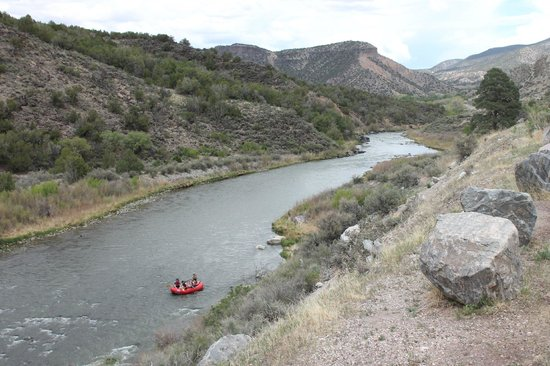 The Low Road From Taos and Santa Fe: Rafting