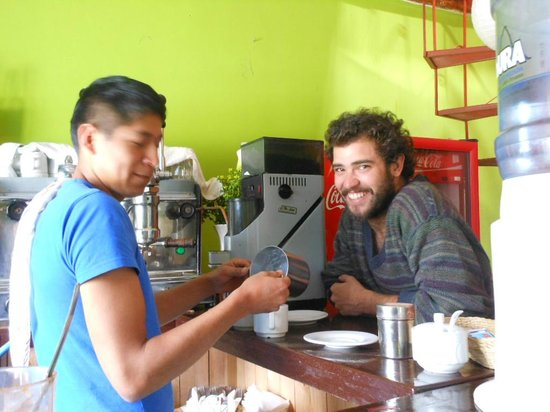 The cute fellas at Coffee Tree