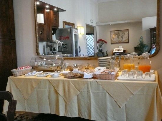 Hotel Emma: Breakfast buffet