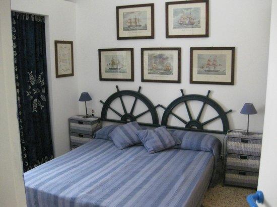 Casa D'Artista: Una delle due camere da letto di Casazzurra