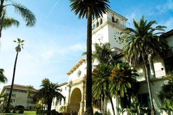 Santa Barbara Scenic Drive: The Courthouse