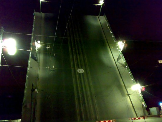 Liteiny Bridge: Разводной пролет