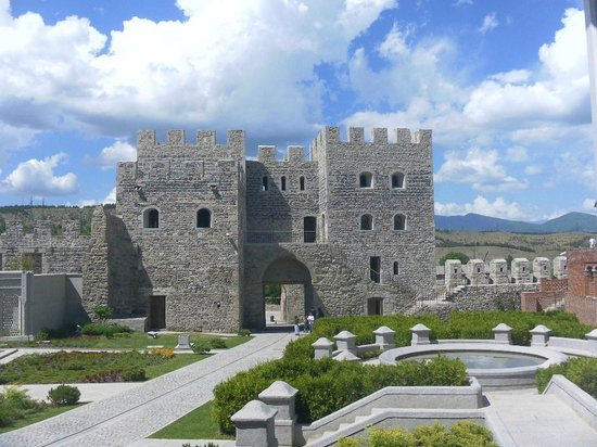 Akhaltsikhe, Georgia: Just a small part of this amazingly restored castle