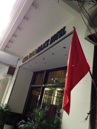 Gia Bao Palace Hotel: Entrance