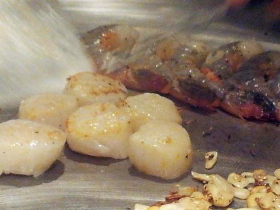 City Miyama Restaurant: Scallops and Steak