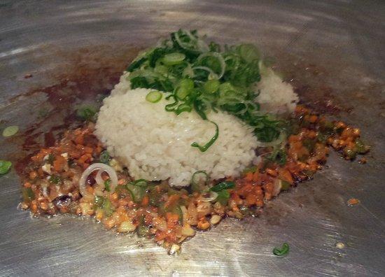 City Miyama Restaurant : Fat Boy Rice