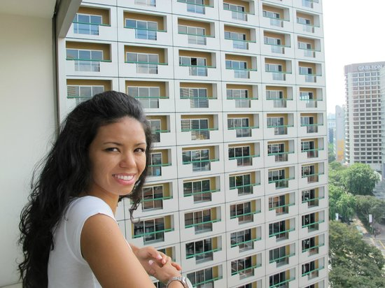 Fairmont Singapore: Nice to have a Balcony