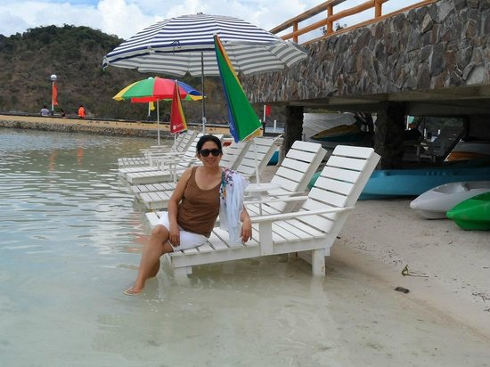 Grace Island: beach front
