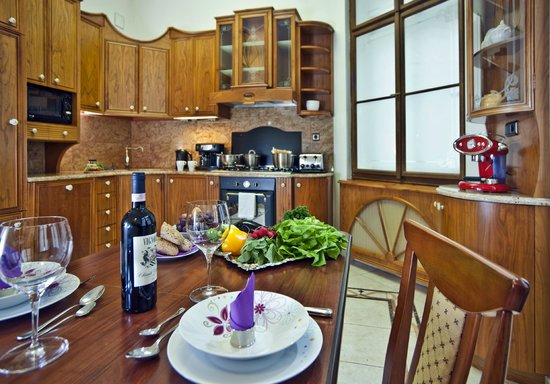 Presidential suite kitchen picture of malostranska for Malostranska residence tripadvisor