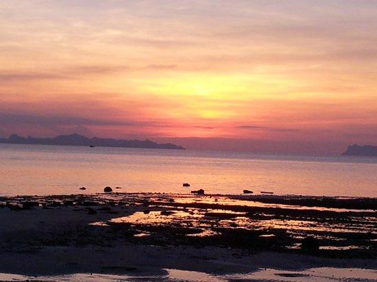 Am Samui Resort : sunset view from room