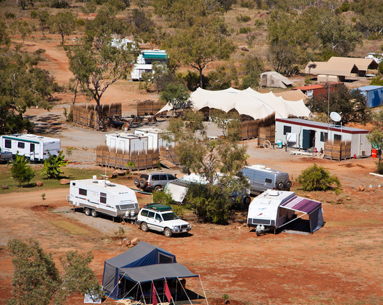 Purnululu National Park, Australia: Bungles Caravan Park & Station Stay