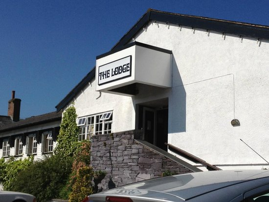 The Lodge Conwy: From the front
