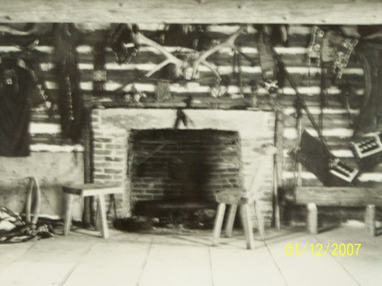 C.M. Russell Museum: the old studio fireplace
