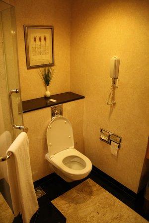 Carlton Hotel Singapore: Toilet/Shower