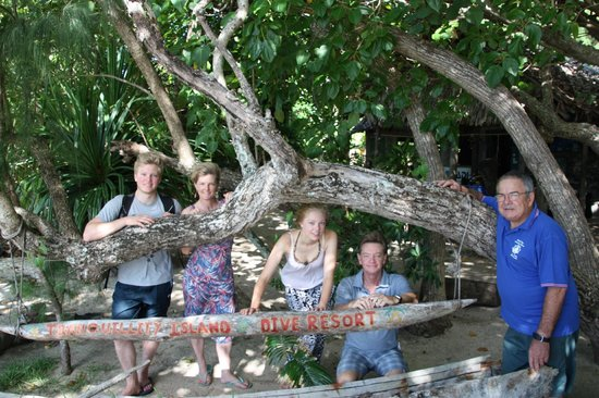 Tranquillity Island Resort & Dive Base: Sad parting
