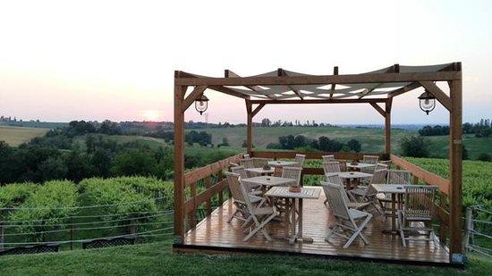 La Cantina dei Sapori: veranda esterna panoramica