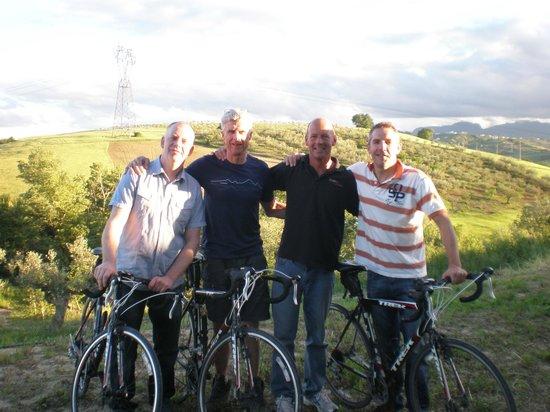 Active Abruzzo: Clients who followed part of the Giro d'Italia