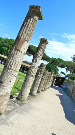 Mercure Napoli Angioino Centro : Pompei pillars