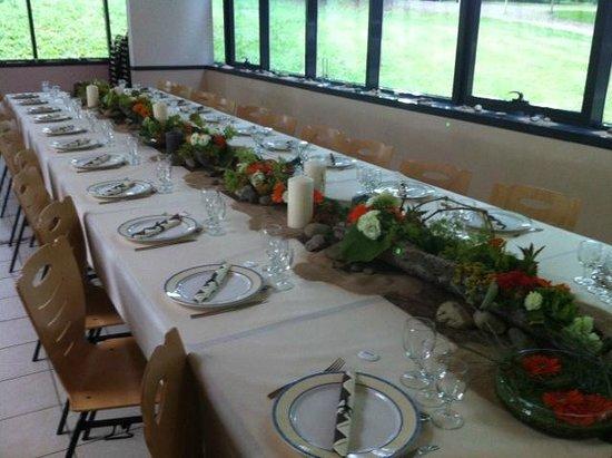 Louchy-Montfand, Francia: salle mariage champètre