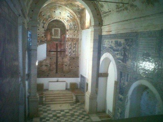 Hotel Convento de Sao Paulo: interno chiesa