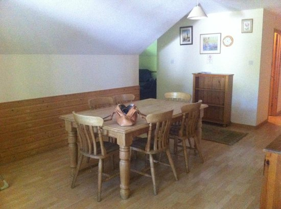 Bulworthy Forest Lodges: Large Dining Area