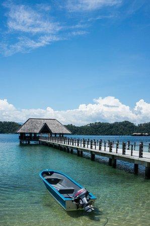 Gaya Island Resort: Jetty