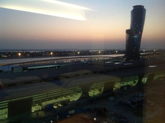 Aloft Abu Dhabi: View from 734