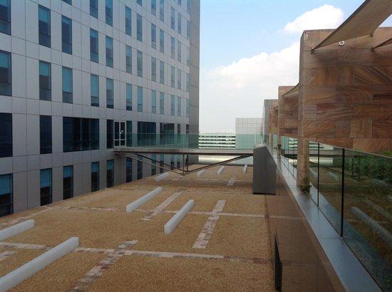 Aloft Abu Dhabi: Bridge to the Gym