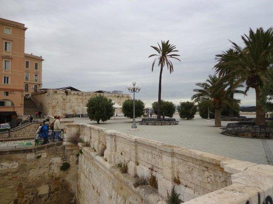 Bastione di Saint Remy: au dessus du bastion