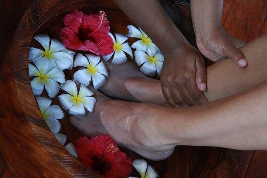Matamanoa Island, فيجي: At the spa